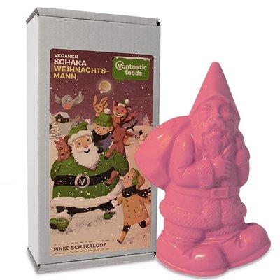 Vantastic foods veganer SCHAKA WEIHNACHTSMANN (kerstman) Pink 100g