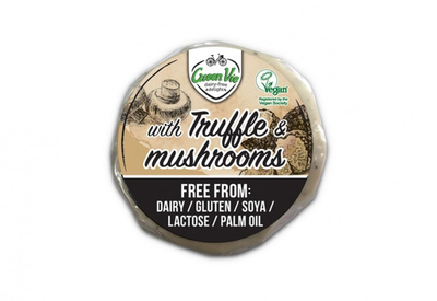 GreenVie Wheel with Mushrooms & Truffle Flavour 200g