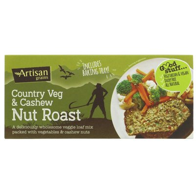 Artisan Grains Nut Roast - Country Veg/Cashew 200g