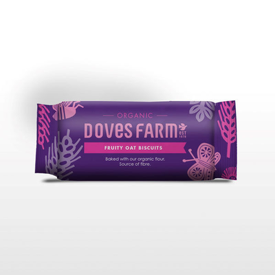 Doves Farm Organic Fruity Oat Biscuits