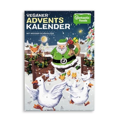 Vantastic foods VANTASTIC Schakalode Adventskalender WIT 150g