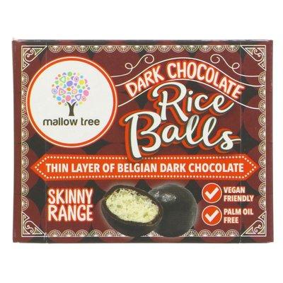 Mallow Tree Belgian Dark Choc Rice Balls 35g
