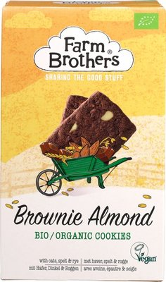 Farm Brothers Brownie amandel koekjes 150g