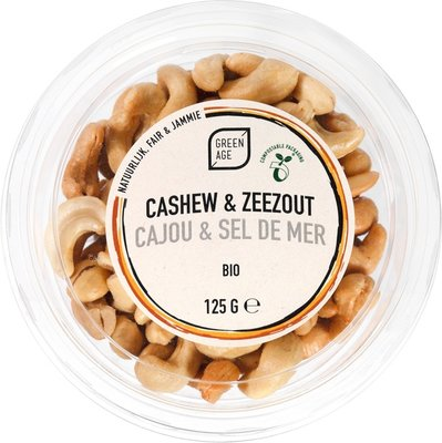 GreenAge Cashews salted 125g