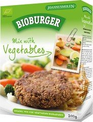 Joannusmolen Bioburger vegetable burger 200g