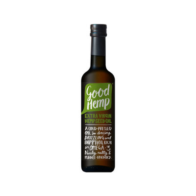 Good Hemp Extra Virgin Hemp Seed Oil – 500ml