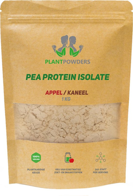 PlantPowders erwten proteïne Appel-Kaneel 1kg