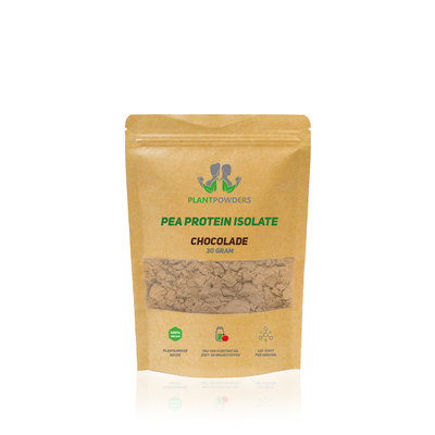 PlantPowders Sample bag Pea Protein Chocolate 30g