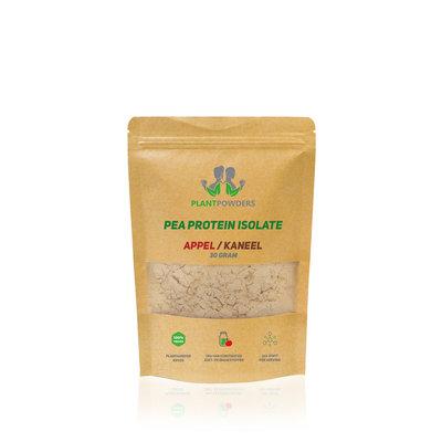 PlantPowders Proefzakje Pea proteïne Appel-Kaneel 30g