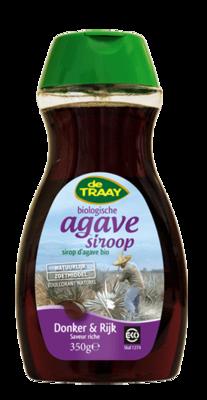 De Traay agave syrup Dark & Rich 490g