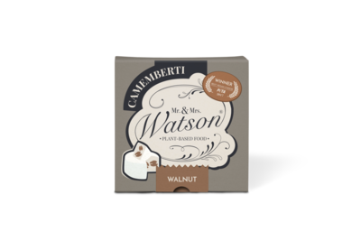 Watson's Caramelised Walnut Camemberti 150g *THT 27.10.2021*