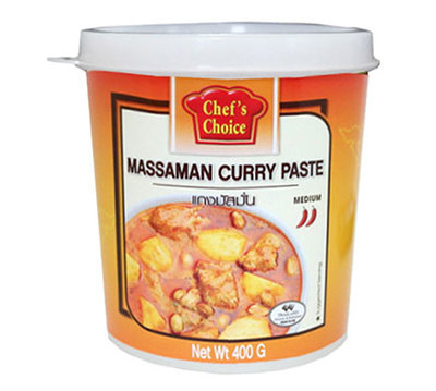 Chef's Choice Massaman Curry Paste 400g