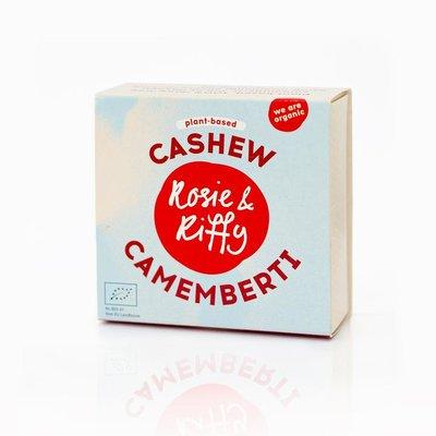 Rosie & Riffy Cashew Camemberti  Naturel 130g THT 23.08.2021*