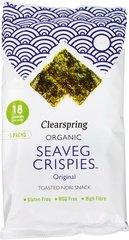 Clearspring Seaveg Crispies Zeewier Crispy 12g