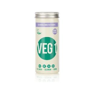 The Vegan Society VEG 1 multivitamin Blackcurrant 180 tablets