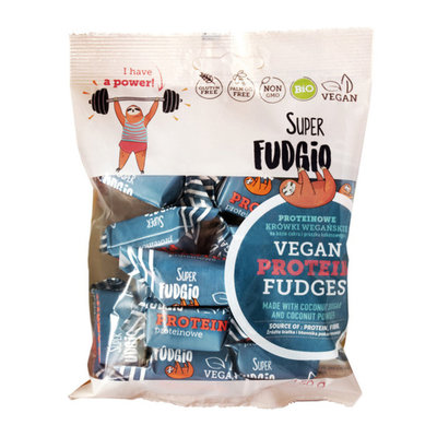 Super Fudgio Bio Protein Fudge met banaan smaak 150g