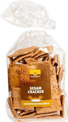 Zonnemaire Crackers volkoren sesam 300g