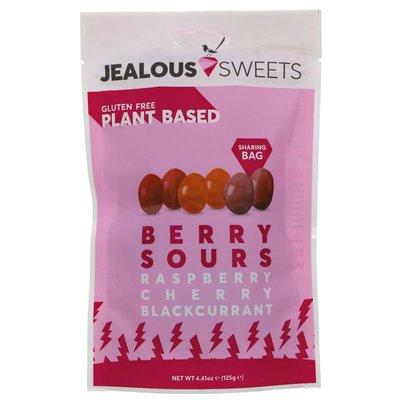 Jealous Sweets Berry Sours raspberry, cherry & blackcurrant 125g