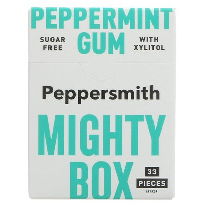 Peppersmith Peppermint Chewing Gum 50g