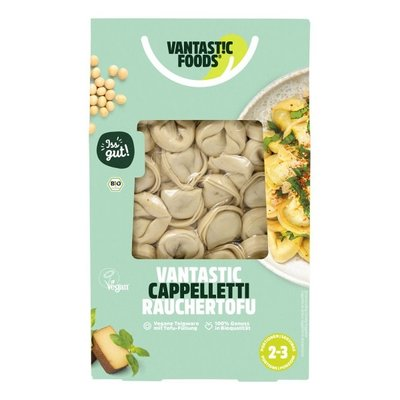 Vantastic Foods Vantastic Bio Cappelletti  Räuchertofu 250g