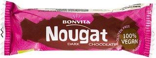 Bonvita Vegan pure chocoladebar nougat 40g