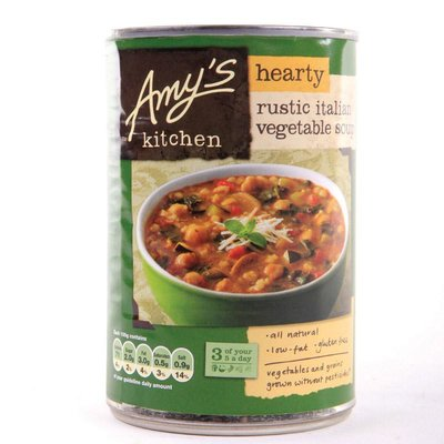 Amy's Kitchen, Rustieke Hartige Italiaanse Groentesoep 397g