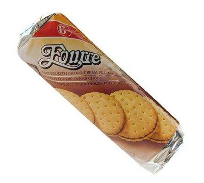 Fourre chocolade koekjes 300g