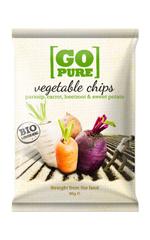 Groente Chips Go Pure 40gram