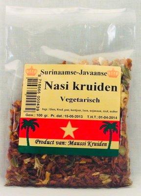 Maussi kruiden Nasi kruiden vegetarisch 100g