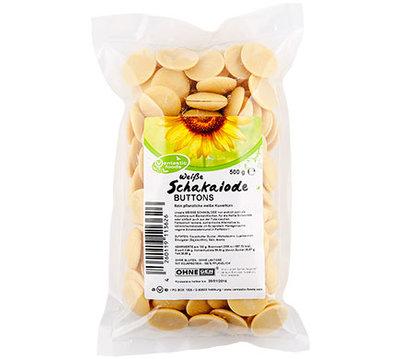 Vantastic Foods Witte Schakalode Buttons, 500G