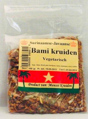 Maussi kruiden Vegetarische bami kruiden  100g