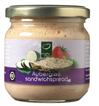Your Organic Nature, Sandwichspread aubergine 180g