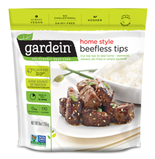 Gardein beefless tips 255g