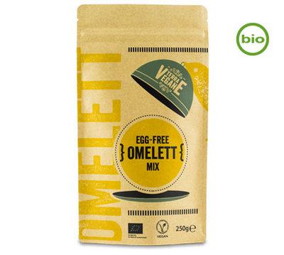 Terra vegane Organic EGG-FREE Omelet Mix 250g