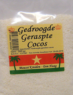 Maussi Kruiden Dried Grated Coconut 200g