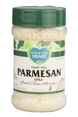 Follow Your Heart Parmesan Grated 142g *THT 18.01.2019*