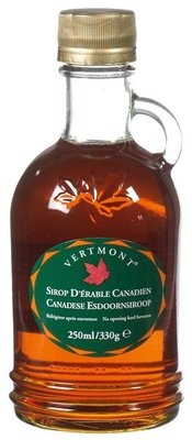 Vertmont Canadian Maple Syrup - A -grade 330g