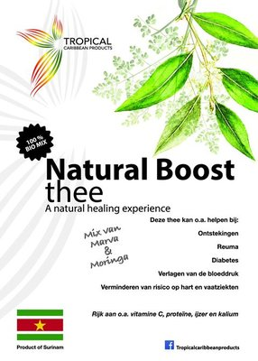 Tropical Caribbean Products Bio Natural Boost Thee 20g