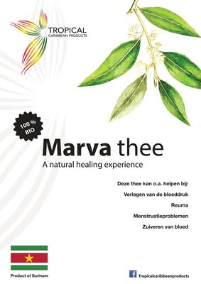 Tropical Caribbean Products Organic Marva tea 20g