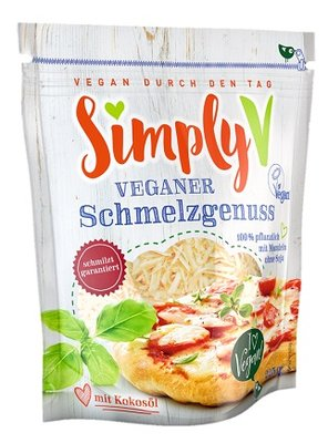 Simply V Veganer Schmelzgenuss (shreds) naturel 225g *THT 28.04.2019*
