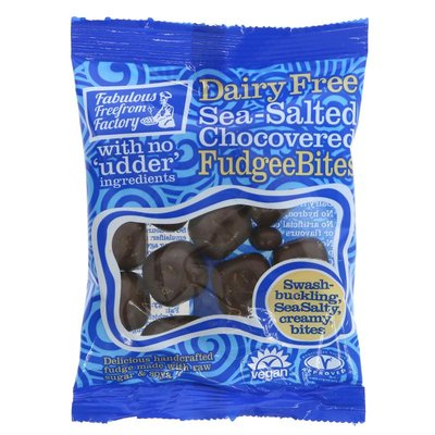 Fabulous Fudge Factory Chocovered Sea Salted Fudgee Bites 65g
