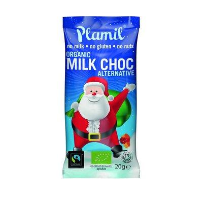 Plamil Milk Chocolate Santa 20g