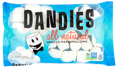 Dandies Marshmallows Vanilla Flavour Regular 283g *THT  05.06.2020*