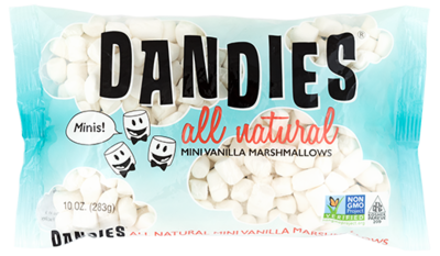 Dandies Mini Marshmallows 283g *THT  16.01.2021*