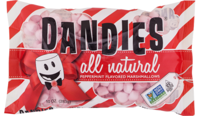 Dandies Peppermint Marshmallows 283g *THT 03.02.2020*