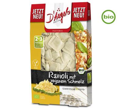 D'angelo biologische ravioli met veganistische vulling 250g