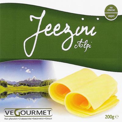 Vegourmet Jeezini Alpi slices 200g
