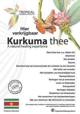 Tropical Caribbean Products Bio Kurkuma thee  50g