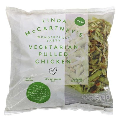 Linda Mccartney Vegetarian Pulled Chicken 300g