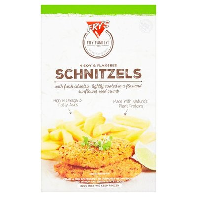 Fry's Soy and Flaxseed Schnitzels 320g